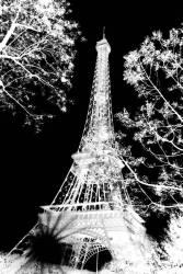 Tour Eiffel - Soleil de nuit (Lacène Chrystèle) - Muzeo.com