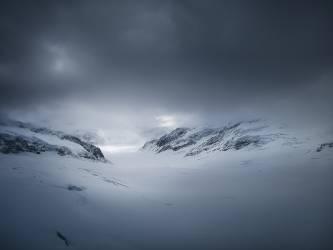 Les Alpes sous la neige (anonyme) - Muzeo.com