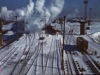 Belt Railway in Chicago II (Jack Delano) - Muzeo.com