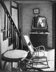 Interior of unemployed man's house. Morgantown, West Virginia (Walker Evans) - Muzeo.com