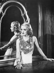 L'actrice Bette Davis (1908-1989) dans une scène du film