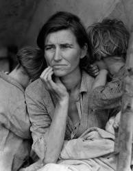 Migrant mother (Lange Dorothea) - Muzeo.com