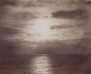 Effet de soleil dans les nuages - Océan (Le Gray Gustave) - Muzeo.com