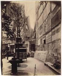 Paris : Saint-Séverin, rue Saint-Jacques, 1899 (Atget Eugène) - Muzeo.com