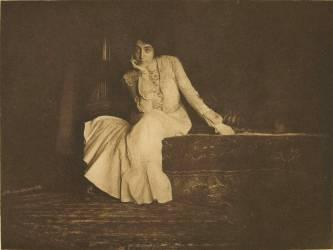 Portrait, Miss De C. (Keiley Joseph) - Muzeo.com