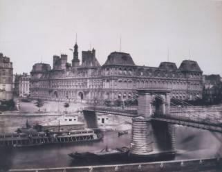 Ancien hôtel de ville de Paris (Baldus Edouard) - Muzeo.com