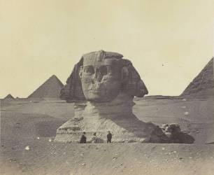 Egypte, le Sphinx (Beato Felice ,Robertson James...) - Muzeo.com
