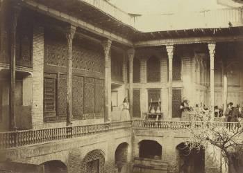 Intérieur d'une maison arabe (anonyme) - Muzeo.com