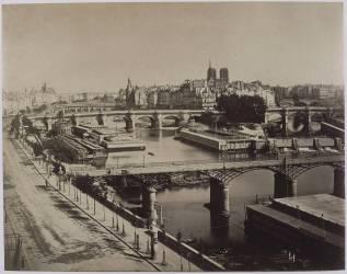Panorama de Paris, vers le Pont-Neuf (Le Gray Gustave) - Muzeo.com