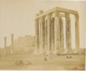 Athènes - Temple de Jupiter Olympien (Robertson James D.) - Muzeo.com