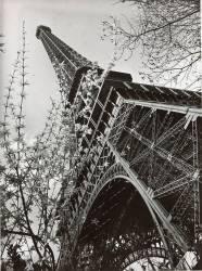 La tour Eiffel vue d'en bas (Chevojon Paul Joseph Albert) - Muzeo.com