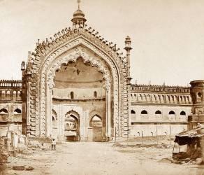 Constantinople Gate, Lucknow (Felice Beato) - Muzeo.com
