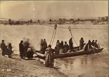 Ferry near Fort Laramie, Dakota (Alexander Gardner) - Muzeo.com