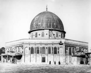 The Dome of the Rock (Felice Beato) - Muzeo.com