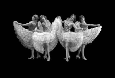 Four Dancers (anonyme) - Muzeo.com