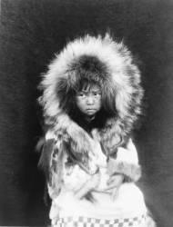 Noatak child (Edward S. Curtis) - Muzeo.com