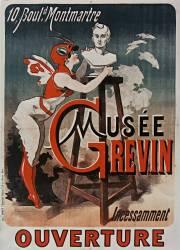 10, Boul[evar]d Montmartre, Musée Grévin, incessamment ouverture (Chéret Jules) - Muzeo.com