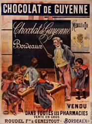 Chocolat de Guyenne... vendu dans toutes les pharmacies... (Firmin Bouisset) - Muzeo.com