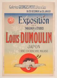 Exposition des tableaux et études de Louis Dumoulin, Japon, Chine, Cochinchine, Malaisie ... (Chéret Jules) - Muzeo.com
