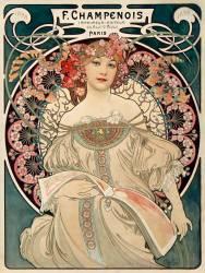 F. Champenois printing and publishing (Alfons Mucha) - Muzeo.com