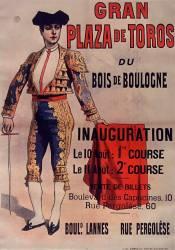 Gran plaza de toros du Bois de Boulogne... (Chéret Jules) - Muzeo.com