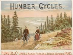 Affiche publicitaire de la maison Humber Cycles (anonyme) - Muzeo.com