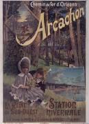 Chemin de fer d'Orléans, Arcachon (Alexianu Frédéric) - Muzeo.com