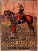Cycles Peugeot. Beaulieu (Doubs) (Ernest Vulliemin) - Muzeo.com