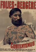 Folies-Bergère. Le Capitaine Costentenus (anonyme) - Muzeo.com