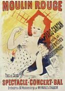 Moulin rouge, Paris-Cancan (Chéret Jules) - Muzeo.com