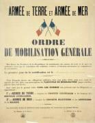 Ordre de mobilisation générale du 2 août 1914 (anonyme) - Muzeo.com