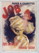 Papier à cigarettes Job. Hors concours Paris 1889 (Chéret Jules) - Muzeo.com