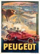 Advertisement for Peugeot (Tamagno Francisco) - Muzeo.com