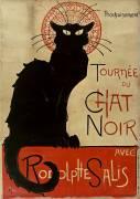 Tournée du Chat Noir (Théophile Alexandre Steinlen) - Muzeo.com