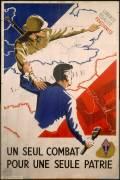 Un seul combat pour une seule patrie (Knopf) - Muzeo.com