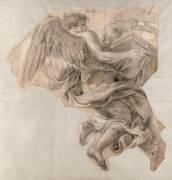 Ange emportant l'Arche d'alliance (Le Brun Charles) - Muzeo.com
