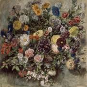 Bouquet de fleurs (Delacroix Eugène) - Muzeo.com