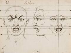 Expressions des Passions de l'âme : la Frayeur (Le Brun Charles) - Muzeo.com