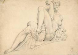 La Nuit, d'après Michel-Ange (Gatteaux Jacques-Edouard) - Muzeo.com