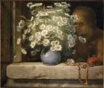 Le bouquet de marguerites (Millet Jean-François) - Muzeo.com