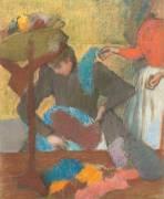 Chez la modiste (Edgar Degas) - Muzeo.com