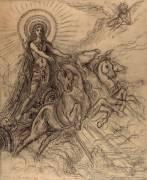 Etude pour Phébus (Moreau Gustave) - Muzeo.com