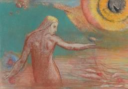 Fleur de sang (Odilon Redon) - Muzeo.com