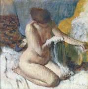 La sortie de bain (Degas Edgar) - Muzeo.com