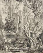 L'Enlèvement de Déjanire (Gustave Moreau) - Muzeo.com