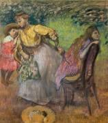 Madame Alexis Rouart et ses enfants (Degas Edgar) - Muzeo.com