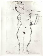 Nude (Gustav Klimt) - Muzeo.com