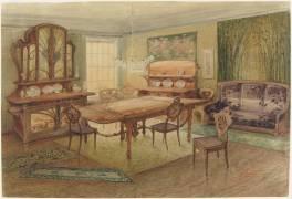 Projet de salle à manger (Gallé Emile) - Muzeo.com