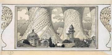 Ville imaginaire (Grasset Eugène) - Muzeo.com