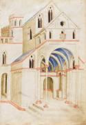 Vue perspective d'une église (,Alighieri) - Muzeo.com